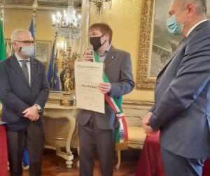 Mauro Dal Pont è stato insignito della medaglia di Cavaliere