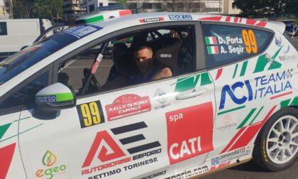"""""""Rally Roma Capitale"""", buon inizio per Davide Porta nella prima prova speciale"""