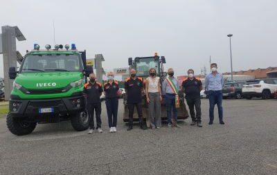 Protezione Civile, un nuovo mezzo a disposizione per la squadra Aib di San Raffaele