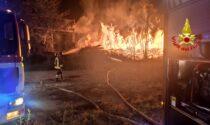 Valle di Susa: incendio nella notte