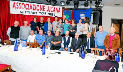 Il nuovo direttivo dell'associazione Lucana di Settimo