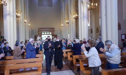 San Raffaele accoglie don Martino, il nuovo parroco: la  galleria fotografica e il video