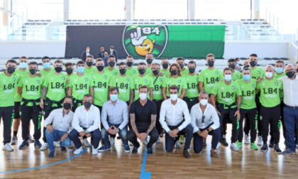 Futsal serie A, oggi (sabato 9 ottobre 2021) l'esordio della L84 al palazzetto dello Sport di Settimo