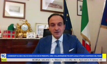 Piemonte: Cirio, Poste Italiane presidio sul territorio con 1.400 uffici postali, 423 ATM Postamat e oltre 8.000 dipendenti
