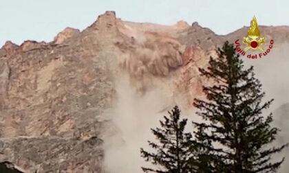 L'impressionante video della frana sul monte Marcora